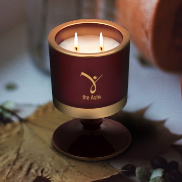 Lux Candle Burgundy 160 gr