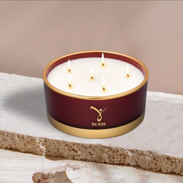 Lux Candle Burgundy 570 gr