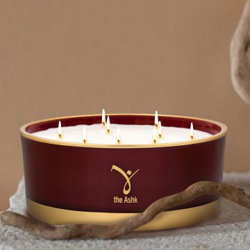 Lux Candle Burgundy 1000 gr