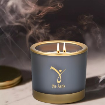 Lux Candle Grey 160 gr