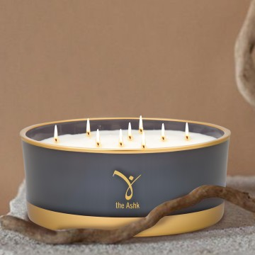 Lux Candle Grey 1000 gr