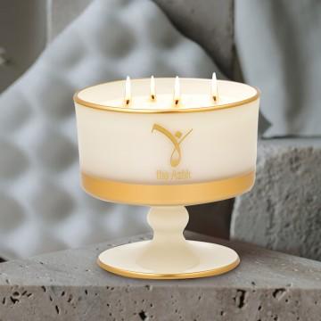 Lux Candle Ecru 230 gr