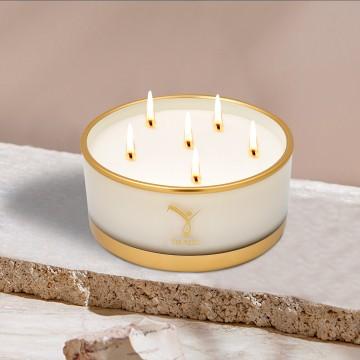 Lux Candle Ecru 570 gr