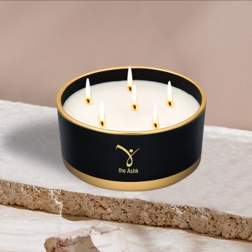 Lux Candle Black 570 gr
