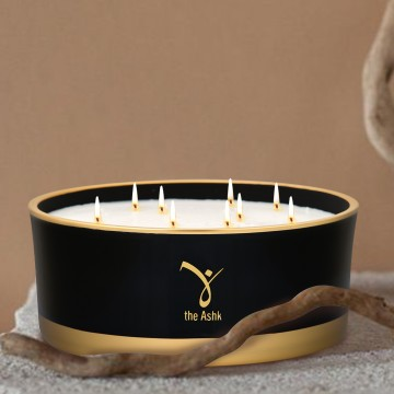 Lux Candle Black 1000 gr