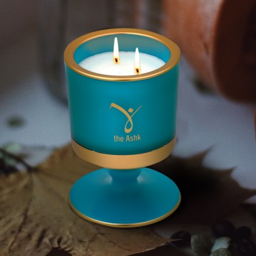 Lux Candle Turquoise 160 gr