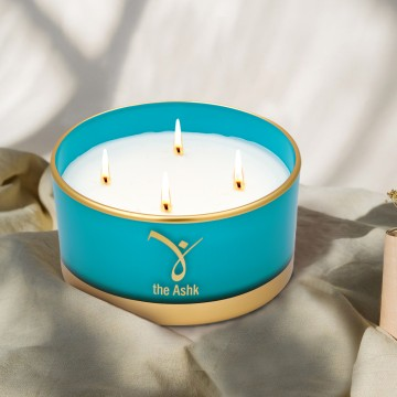 Lux Candle Turquoise 230 gr