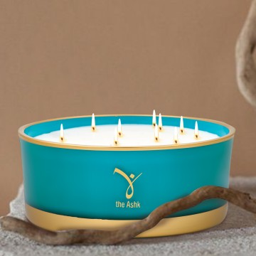Lux Candle Turquoise 1000 gr